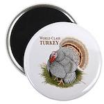 """World Class Turkey 2.25"""" Magnet (10 pack)"""
