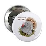"""World Class Turkey 2.25"""" Button (100 pack)"""