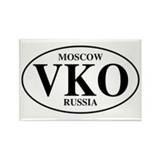 VKO Moscow Rectangle Magnet (100 pack)