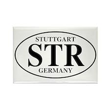 STR Stuttgart Rectangle Magnet (100 pack)