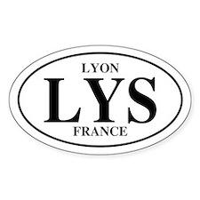 LYS Lyon Oval Decal