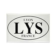 LYS Lyon Rectangle Magnet