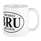 BRU Brussels Coffee Mug