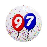 97th Birthday Ornament (Round)