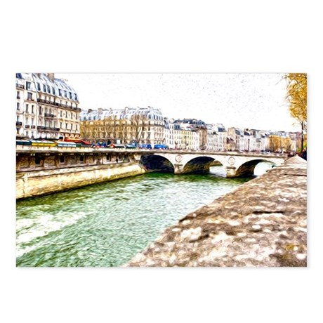 Seine River Postcards (Package of 8)