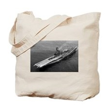 USS Ticonderoga Ship's Image Tote Bag