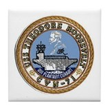 USS Theodore Roosevelt CVN 71 Tile Coaster