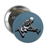 "Skeleton Guitarist Jump 2.25"" Button (100 pack)"