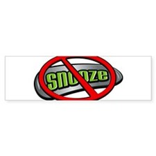 Snooze Button Bumper Bumper Sticker