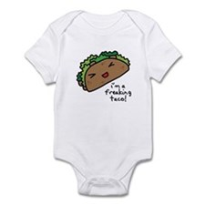 I'm a freaking taco Infant Bodysuit