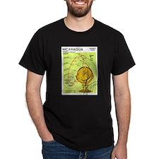 Halley's Comet - Solar System Black T-Shirt
