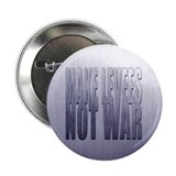 "MAKE LEVEES NOT WAR, 2.25"" button"