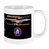 USS Enterprise NCC-1701-E Sovereign Class Coffee Mug