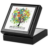 Unique Adoption Keepsake Box