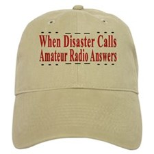 When Disaster Calls Amateur R Baseball Cap