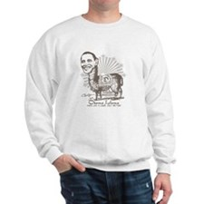 Cool Obama Llama Sweatshirt