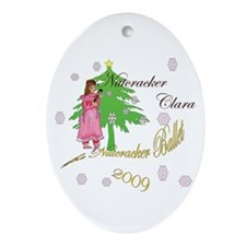 Nutcracker ornament Oval Ornament