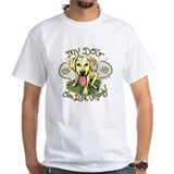My Dog Can Lick Anyone White T-shirt 2