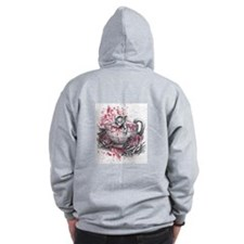 Dormouse (back only) Zip Hoodie