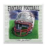 Fantasy Football Genius Tile Coaster