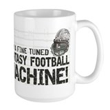 Fantasy Football Machine Ceramic Mugs