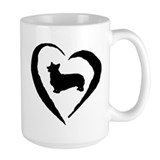 Pembroke Heart Mug