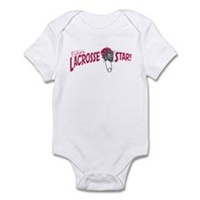 Baby Lacrosse Star Infant Bodysuit