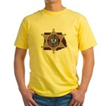 Copiah County Sheriff Yellow T-Shirt