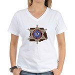 Copiah County Sheriff Women's V-Neck T-Shirt