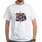Copiah County Sheriff White T-Shirt