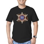 Copiah County Sheriff Men's Fitted T-Shirt (dark)