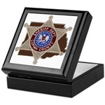 Copiah County Sheriff Keepsake Box
