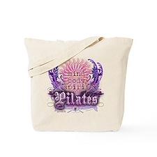 Body Mind Spirit Pilates Tote Bag