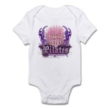 Body Mind Spirit Pilates Infant Bodysuit
