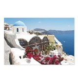 Cute Santorini Postcards (Package of 8)