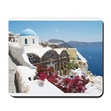Cute Santorini Mousepad