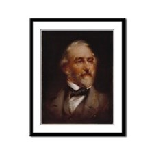 Robert E. Lee Framed Panel Print