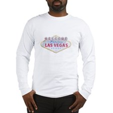 Las Vegas Sign Logo Long Sleeve T-Shirt