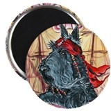 Pirate Scottish Terrier Magnet
