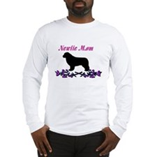 Newfie Mom Long Sleeve T-Shirt