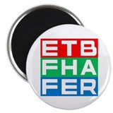 "EFF THE BAR 2.25"" Magnet (100 pack)"