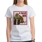 Valentine Dog Women's T-Shirt