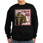 Valentine Dog Sweatshirt (dark)
