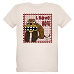 Valentine Dog Organic Kids T-Shirt