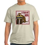 Valentine Dog Light T-Shirt