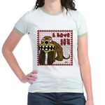 Valentine Dog Jr. Ringer T-Shirt