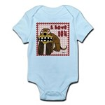 Valentine Dog Infant Bodysuit
