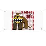 Valentine Dog Banner