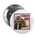 "Valentine Dog 2.25"" Button (10 pack)"