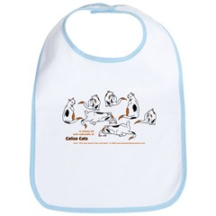 Calico Cats Bib